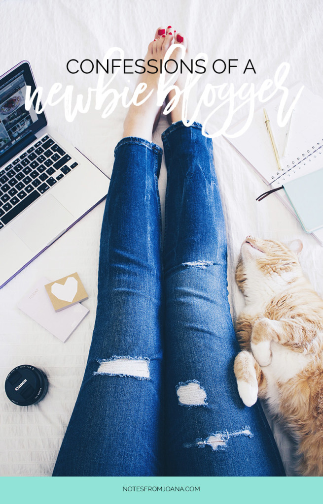 Confessions of a Newbie Blogger #2