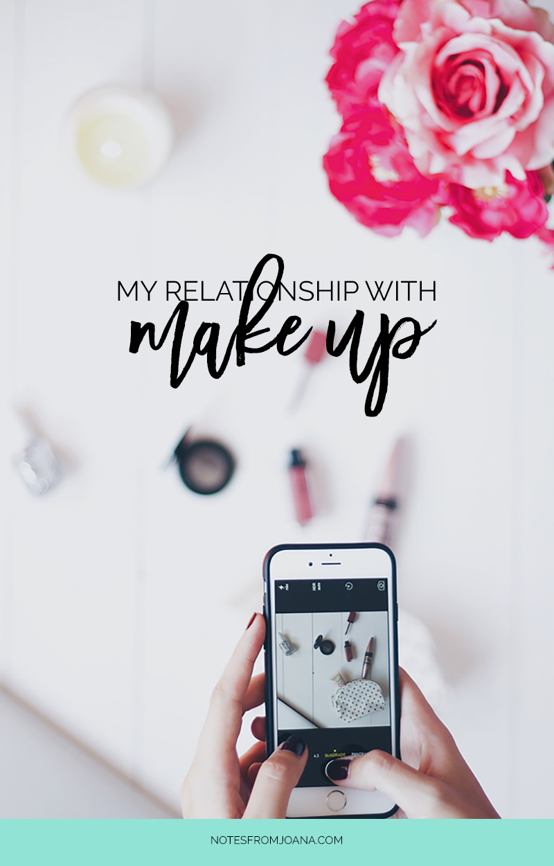 My Relationship With Make Up | An essay on my personal journey with make up. Click through to read more!