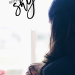 "Notes On Being Shy | My thoughts on growing up as a shy girl. Don't ever forget you're much more than being ""the shy one""."