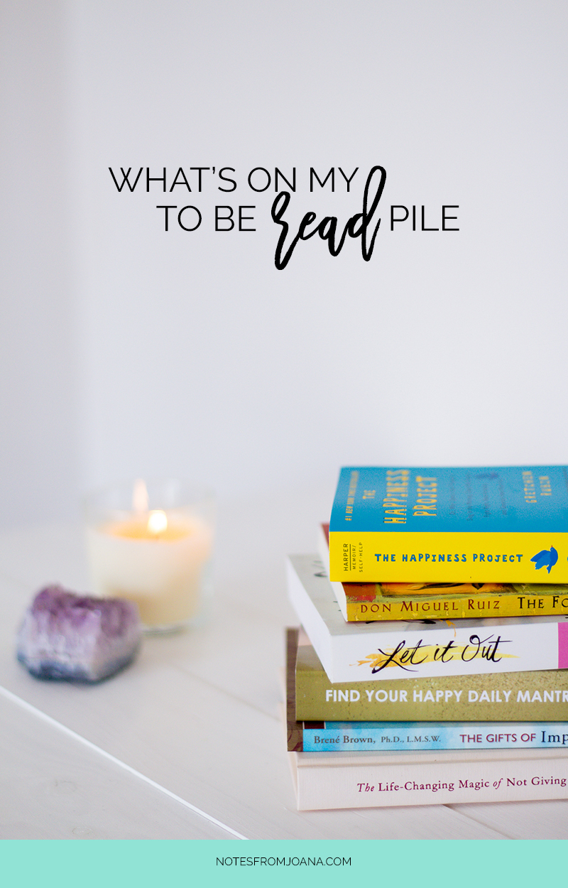 On My To Be Read Pile This Fall | Looking for books to read this Fall? Discover here 6 self growth books that I'm looking forward to read!