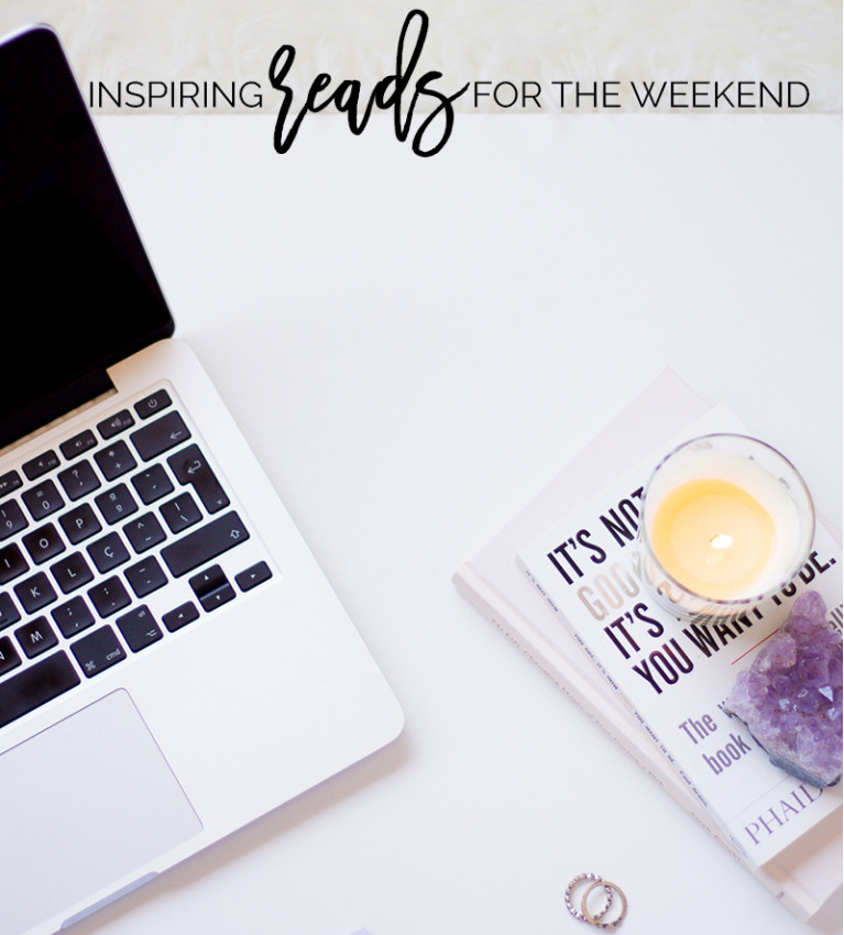 6 Inspiring Articles Worth Reading This Weekend | Feeling uninspired? Check here 6 articles that will boost your motivation! Pin it or save for later!
