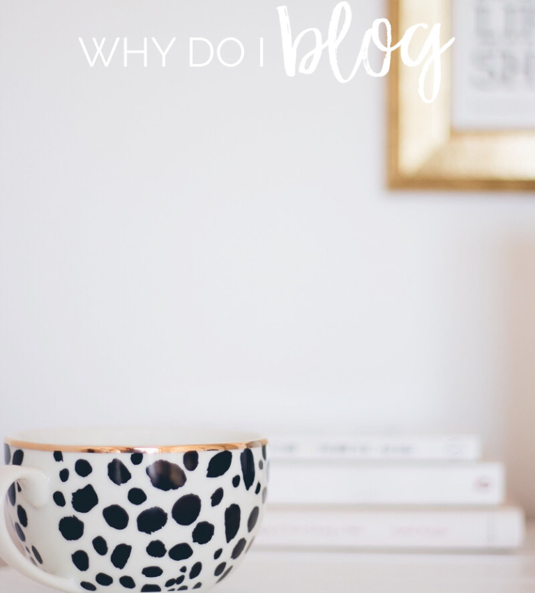 Why Do I Blog | Sometimes it's important to take a step back and remember why we started blogging in the first place. #lbloggers