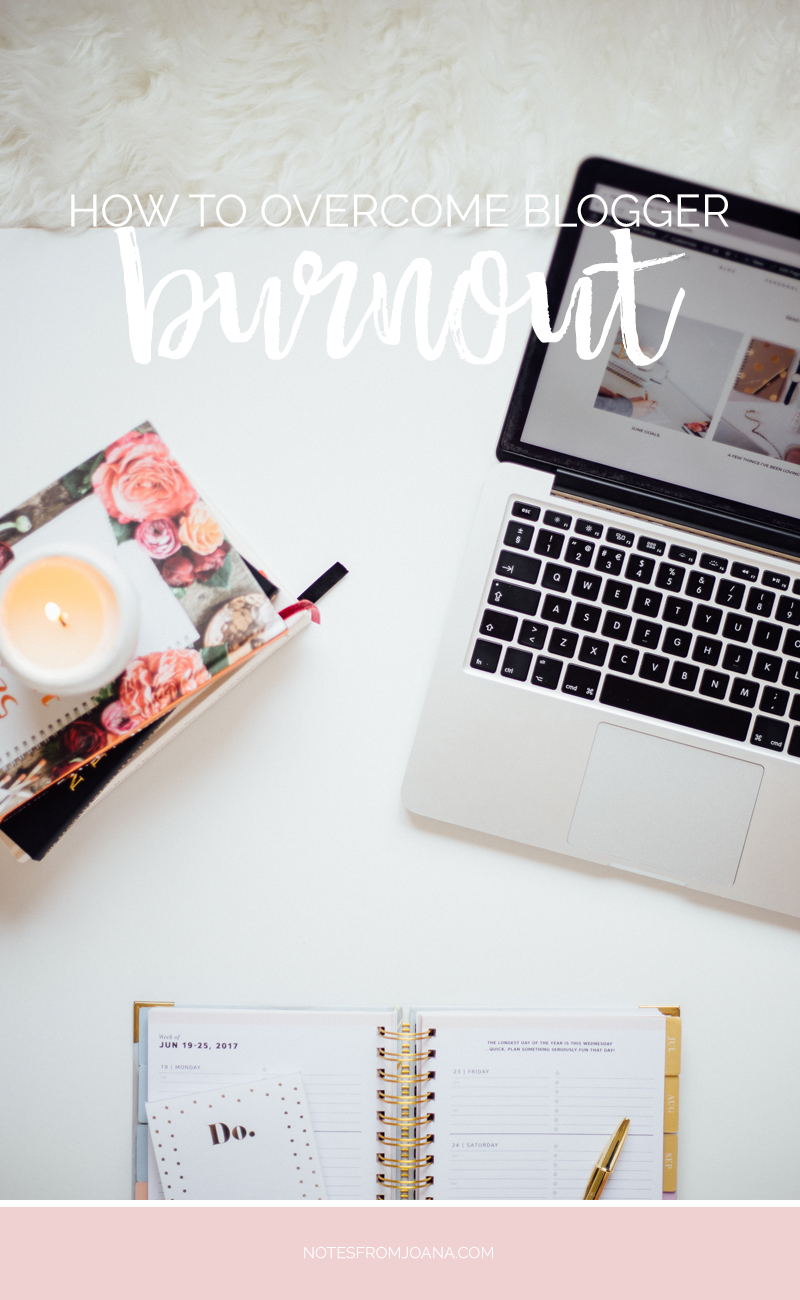 How To Overcome Blogger Burnout & How To Avoid It | Stuck in a blogger rut? Here are 10 ways to help you overcome blogger burnout. Click through to read of pin for later?