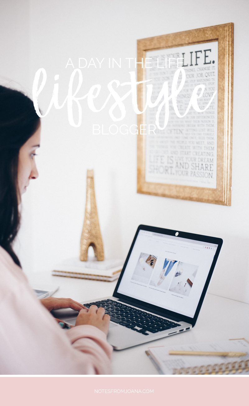 A Day In The Life Of A Lifestyle Blogger // Blogging & batch photography. Click to read more!