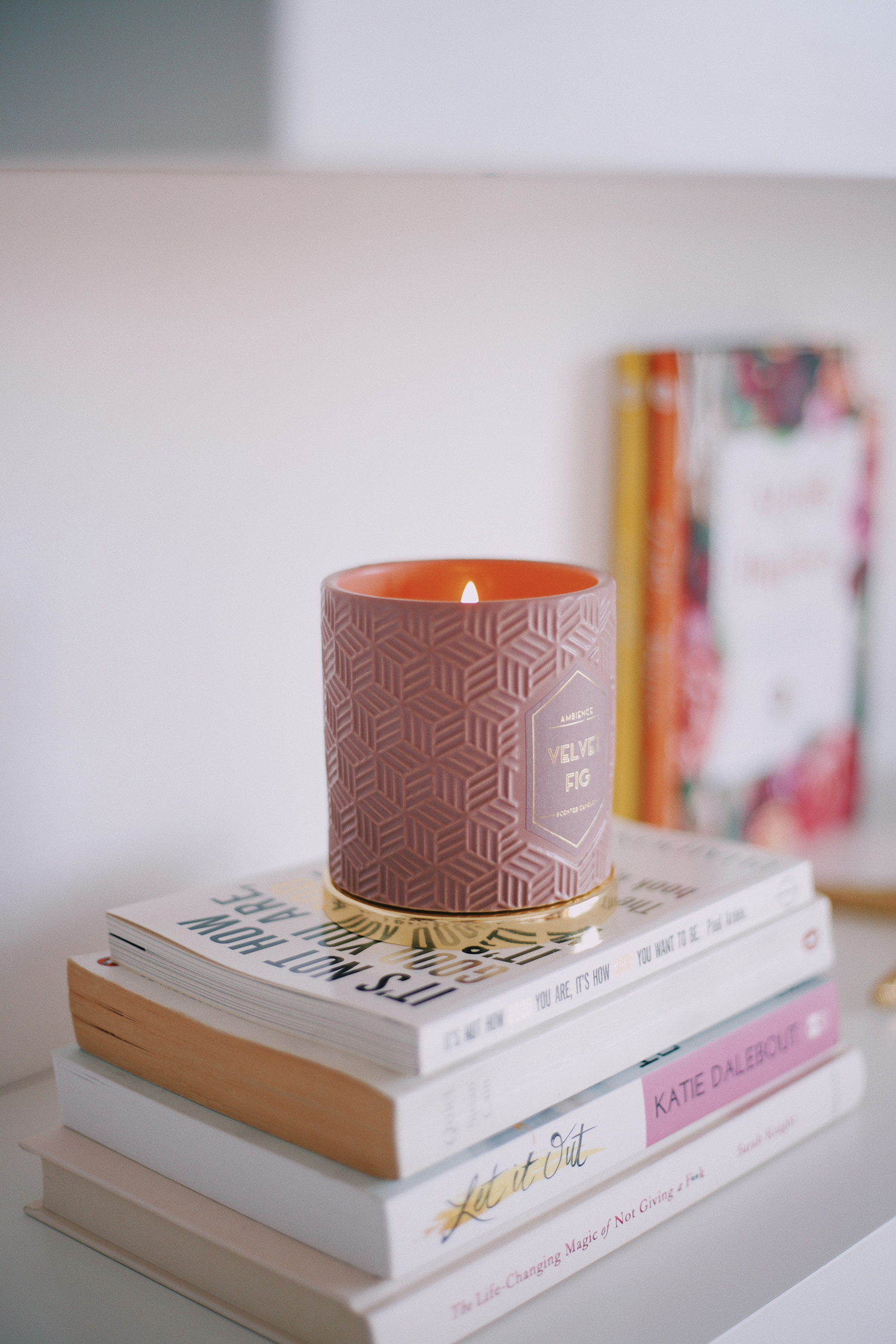 Sprucing Up My Bedroom With Blush & Gold