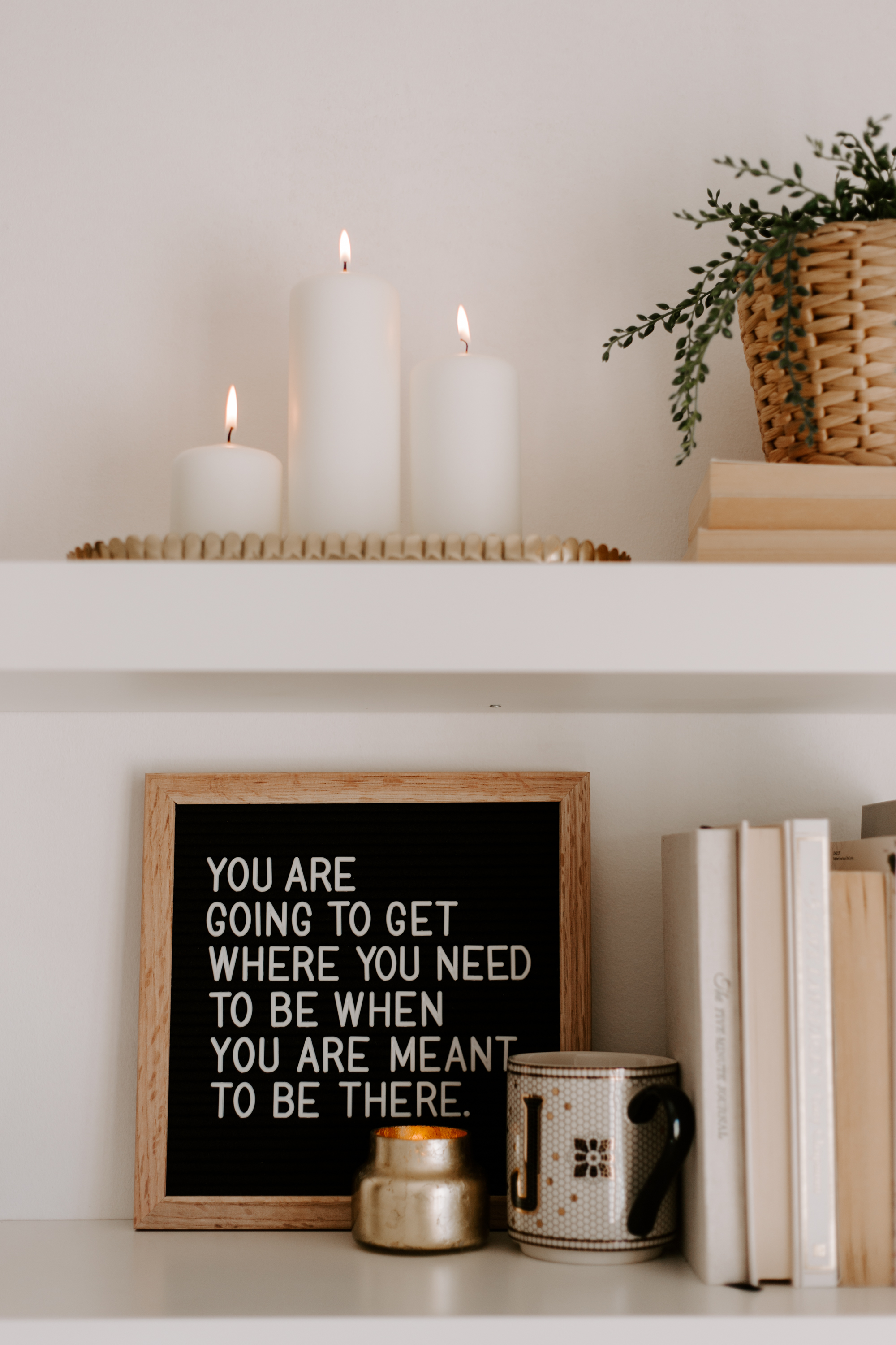 How To Be OK With Where You Are Right Now / Notes from Joana